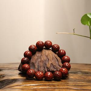 小叶紫檀1.5清刀版 锤纹 珠