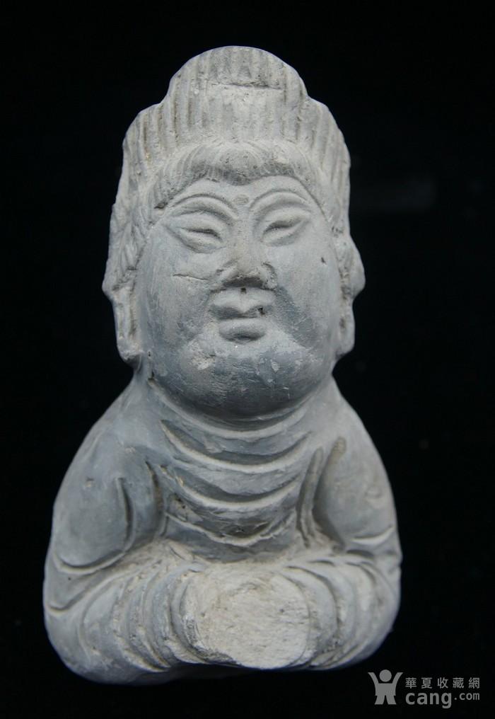 法国回流中国维纳斯 大唐侍女雕件 图1