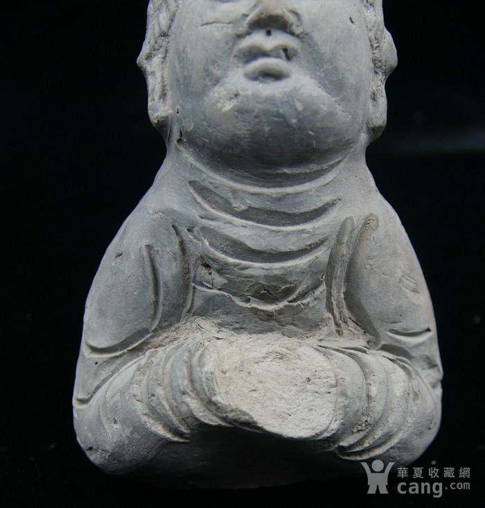 法国回流中国维纳斯 大唐侍女雕件 图5