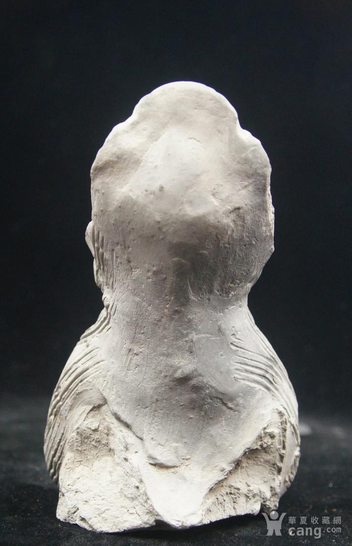 法国回流中国维纳斯 大唐侍女雕件 图3