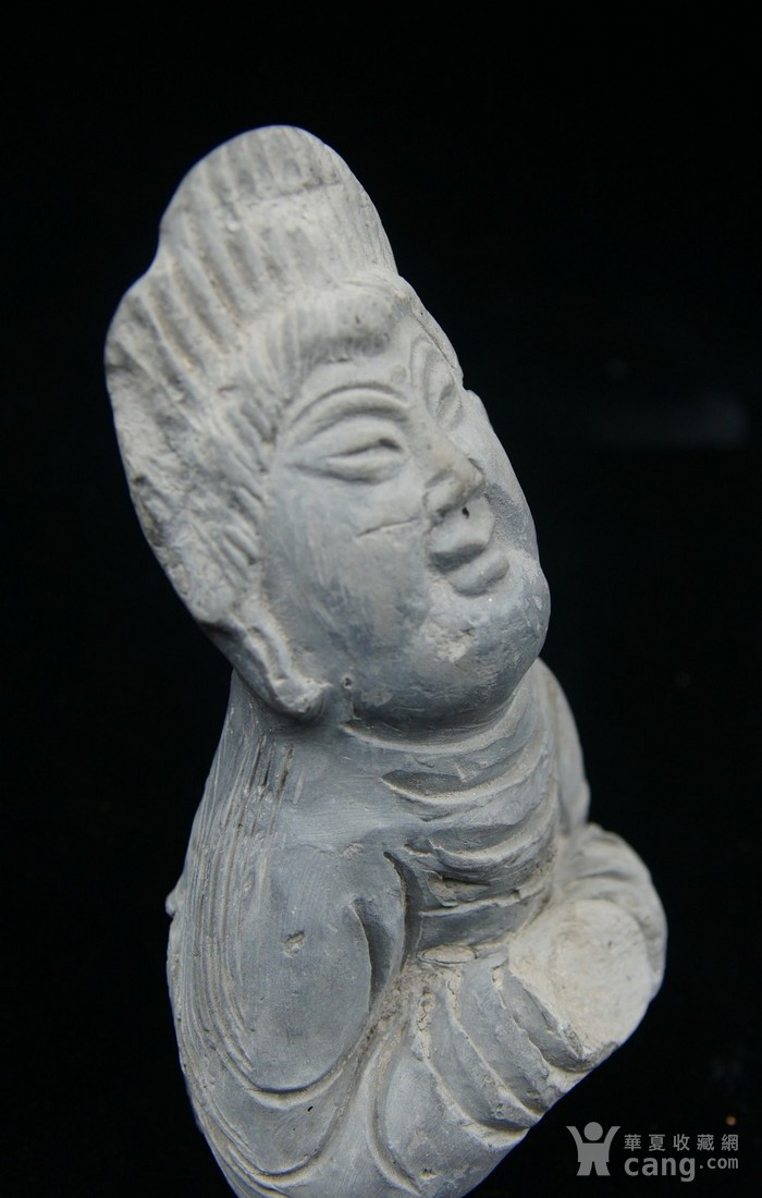 法国回流中国维纳斯 大唐侍女雕件 图6