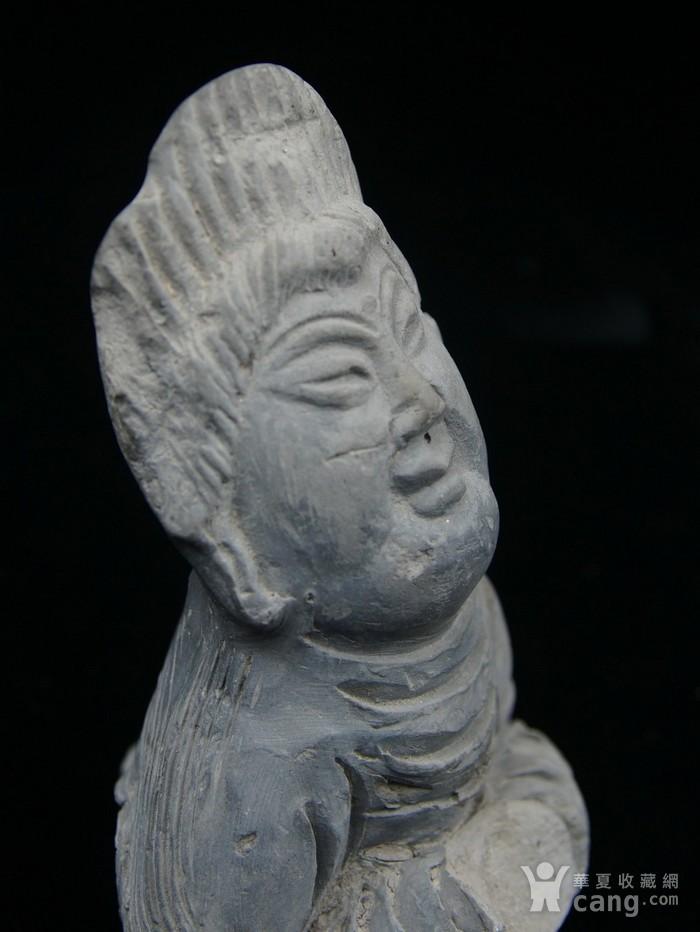 法国回流中国维纳斯 大唐侍女雕件 图2