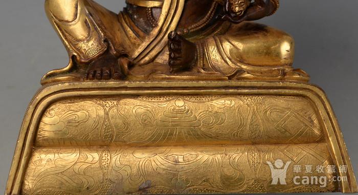 钻石 欧洲回流铜鎏金黄财神图8