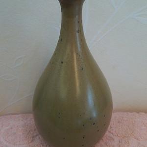 清晚:鳝鱼黄双寿带耳葫芦瓶