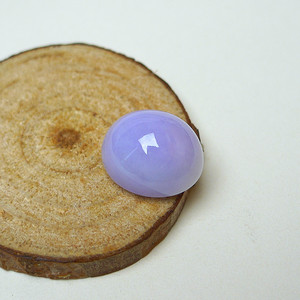 冰润紫罗兰蛋型戒面