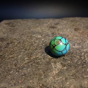 原矿高瓷绿松石单珠