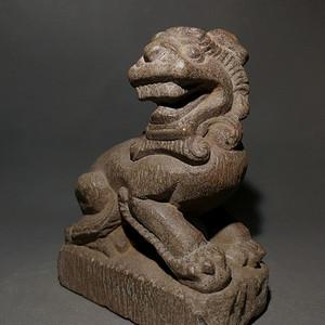 老石雕瑞兽