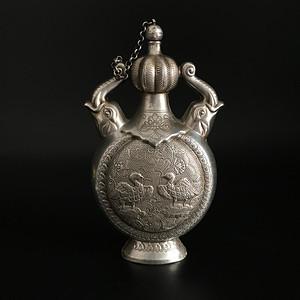足银 酒壶