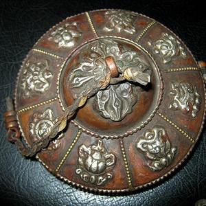 晚清民国西藏法器铜钹
