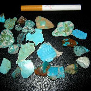 联盟 原矿松石一堆