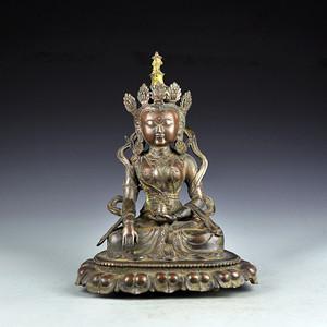 黄铜藏传佛像