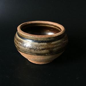 吉州窑青釉香炉