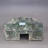 汉代绿釉灶《2》