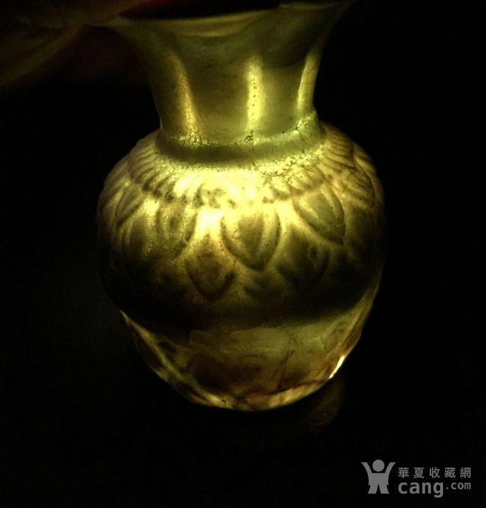竞猜:湖田窑 莲瓣纹花口赏瓶图1-在线竞猜-图片|图库|价格