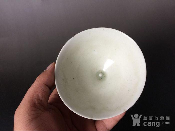 顶级湖田窑鸡心斗笠盏图5