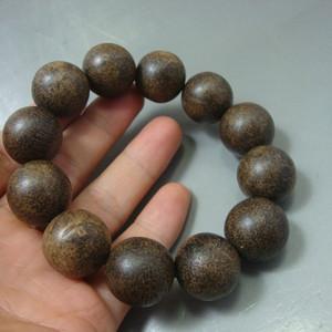 收藏级越南黑土沉手珠2.0公分