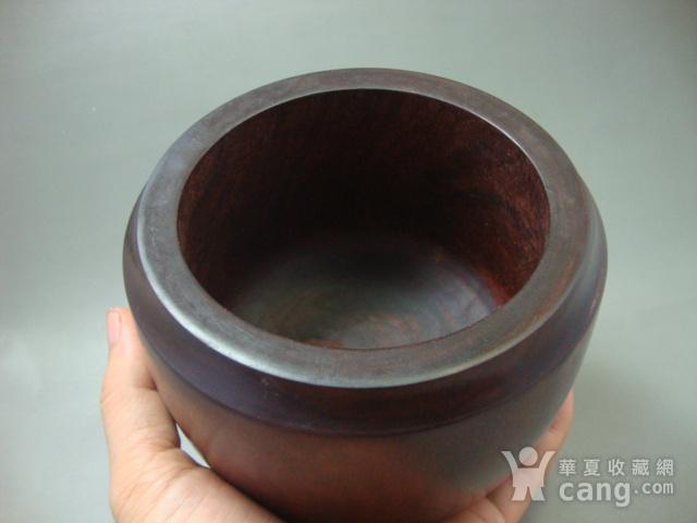 厚重的金星紫檀罐子一个图5