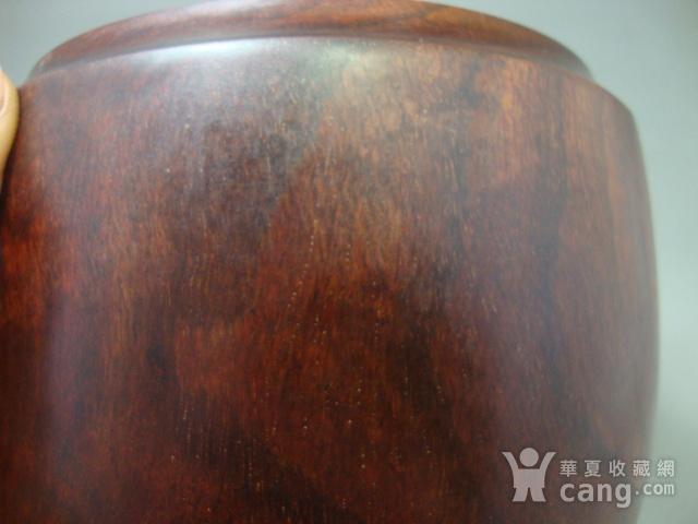 厚重的金星紫檀罐子一个图6
