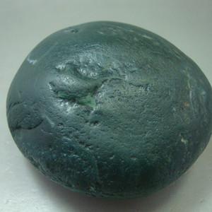 219克阿拉善蓝色绿原石把件