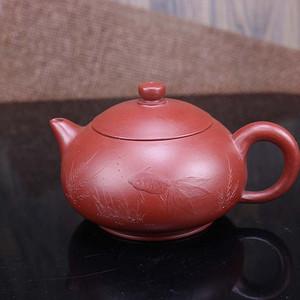 纯手工紫砂壶大红袍朱泥茶壶