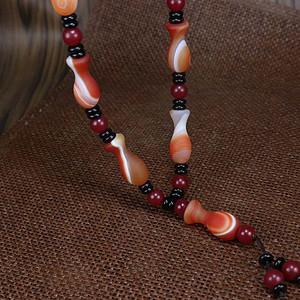 天然玛瑙平平安安项链!超低一口价!