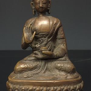 清代 藏传 释迦牟尼  坐佛像