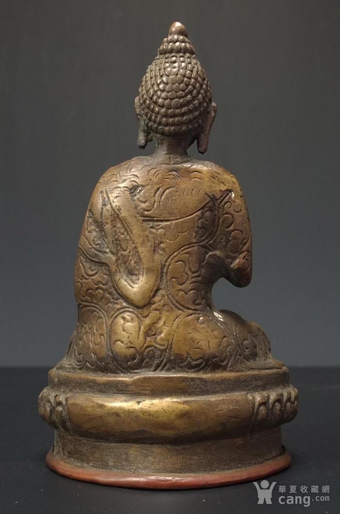 清代 藏传 释迦牟尼  坐佛像图4