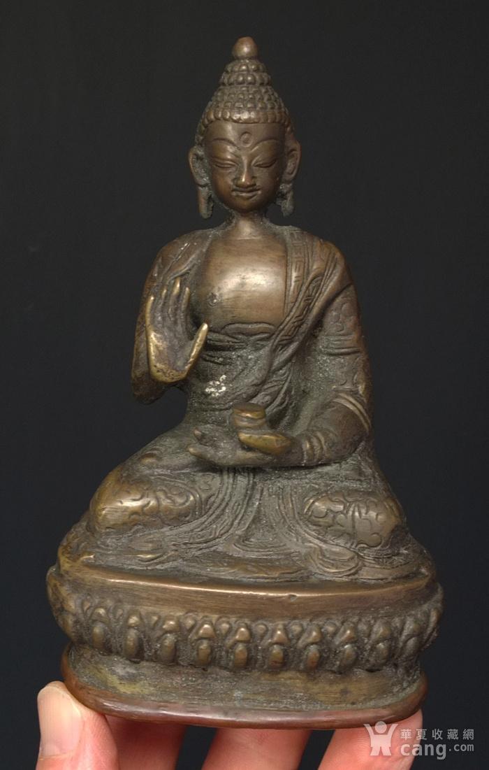 清代 藏传 释迦牟尼  坐佛像图10