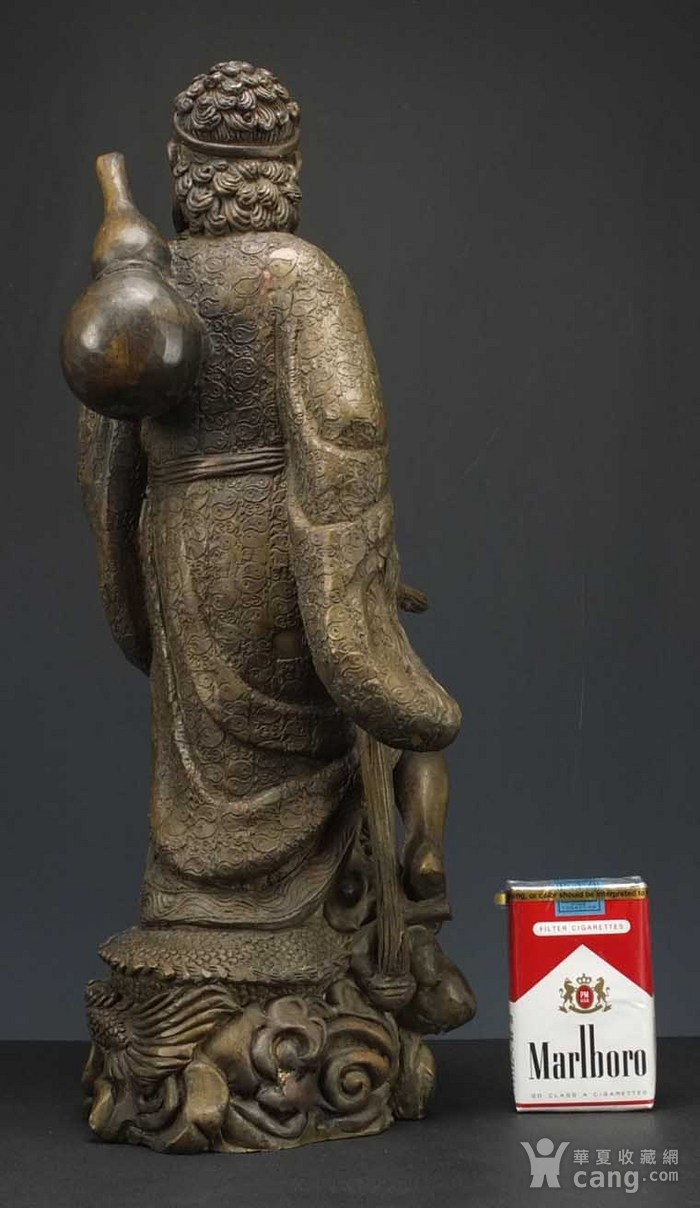 国外回流 二十世纪 超大 铜雕塑像高42厘米 2017 8 30 06图8