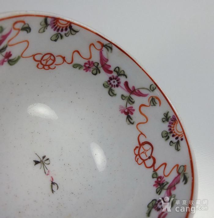 清代乾隆外销器  粉彩 小碗图11