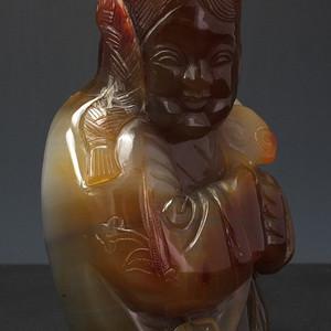 天然原矿玛瑙 雕塑像大摆件