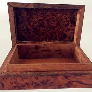 影子木雕首饰盒50