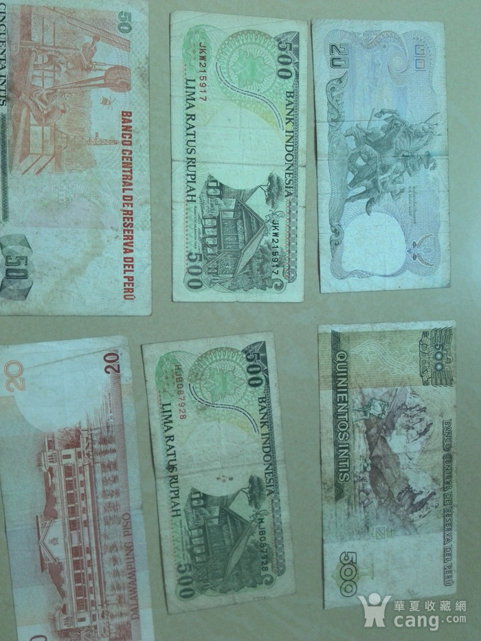 外国钱币10张,图1