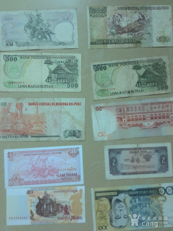 外国钱币10张,图2