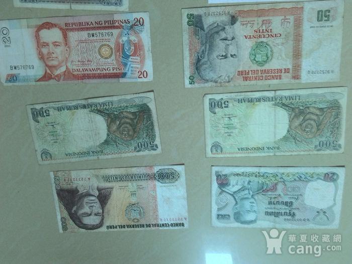 外国钱币10张,图5