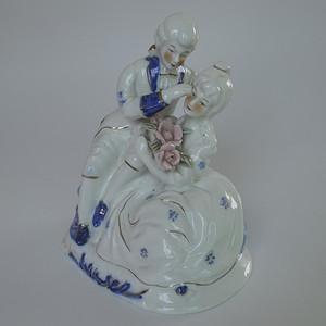 精工人物瓷塑