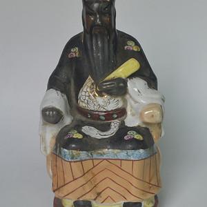 文革老神像