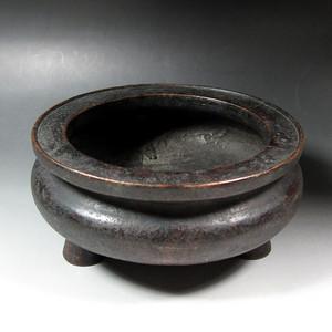 清代红铜制鬲式炉