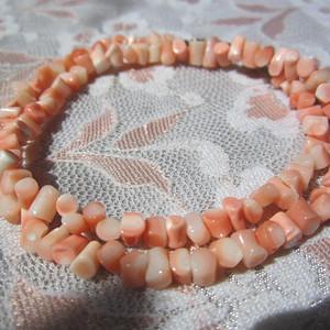 天然珊瑚 链 终身保真 13.6克