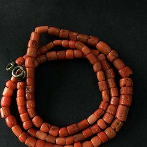 8033老珊瑚项链