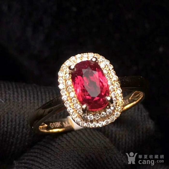 天然红宝石戒指图1