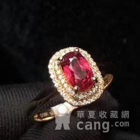 天然红宝石戒指图2
