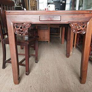 一流皮壳红酸枝方桌