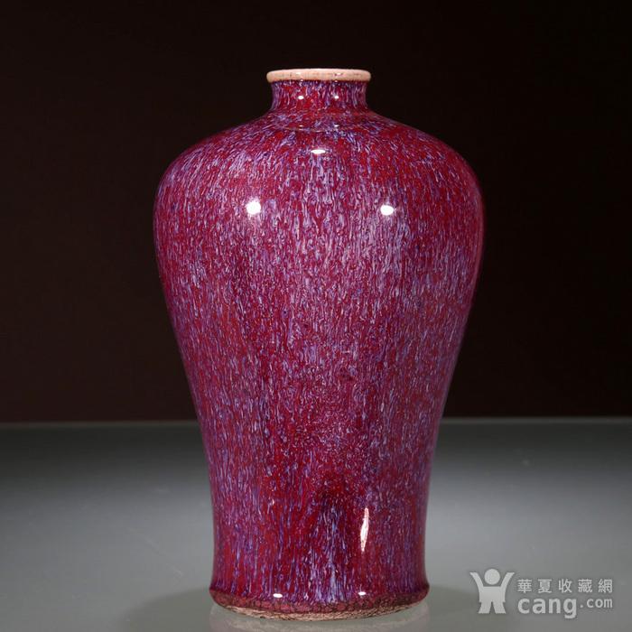 清乾隆 窑变釉梅瓶图2
