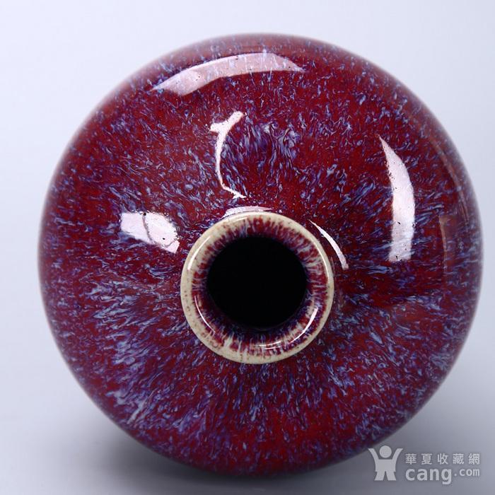 清乾隆 窑变釉梅瓶图5