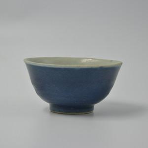 清雍正单色釉小碗