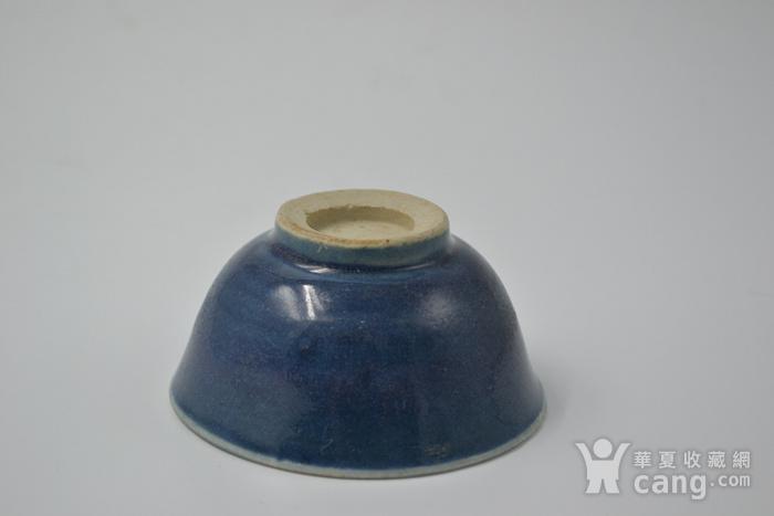 清雍正单色釉小碗图2