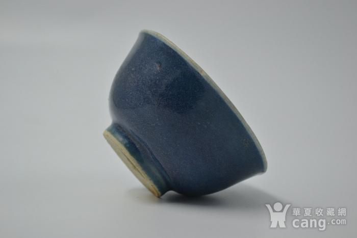 清雍正单色釉小碗图3