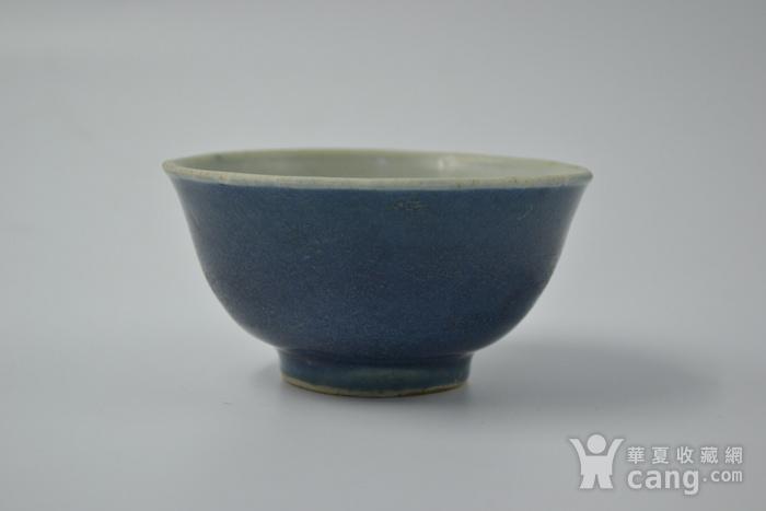 清雍正单色釉小碗图4
