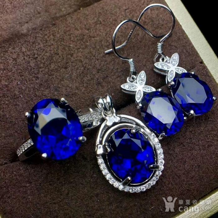 天然蓝宝石套装图3